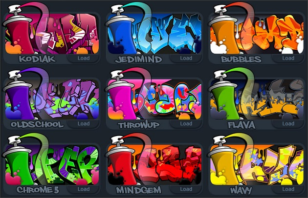 nome-graffiti-online