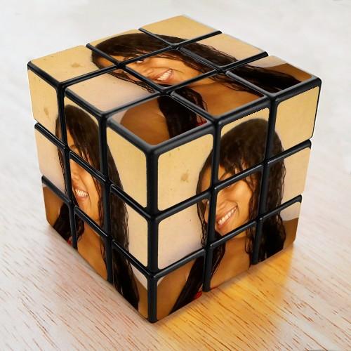 cubo mágico com fotos
