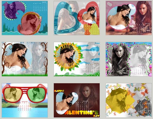 modelos de calendários 2014