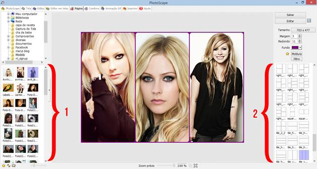 colagem de fotos no photoscape
