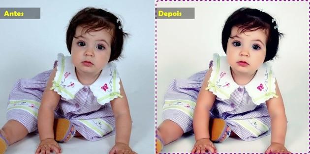 efeito criança photoscape
