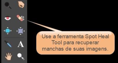 spot heal tool