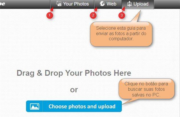 upload fotos loupe