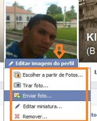 Como alterar a foto do perfil no Facebook